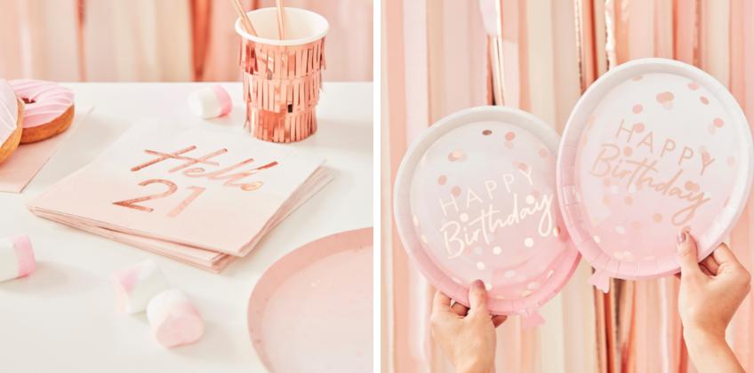 Mix &Match - Stell dir deinen eigenen Geburtstags-Look in Gold & Pastell zusammen