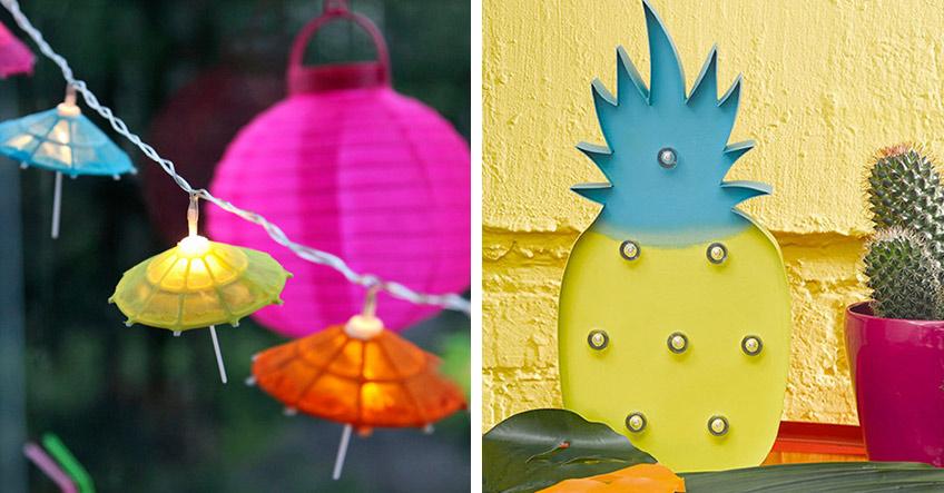 Dein Sommerbalkon braucht auf jeden Fall coole Partylights!