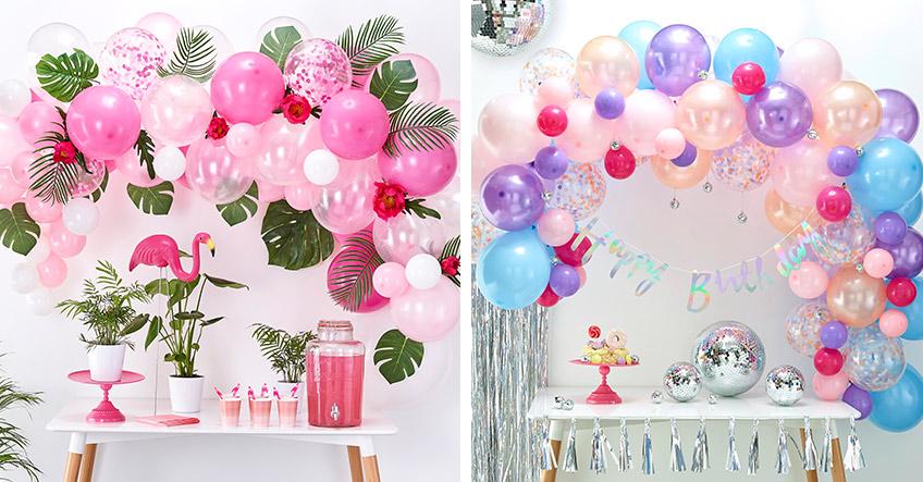 Ballongirlanden - passend und individuell zu jedem Anlass