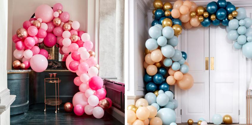 Die Effekte einer gut eingesetzten Ballongirlande sind sensationell