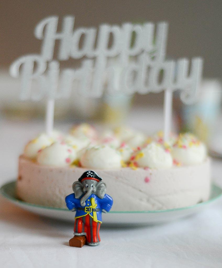 Mit Benjamin Blümchen lässt sich ein fröhlicher Geburtstag feiern.