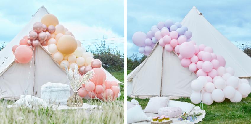 So unglaublich kann Luftballon-Deko aussehen