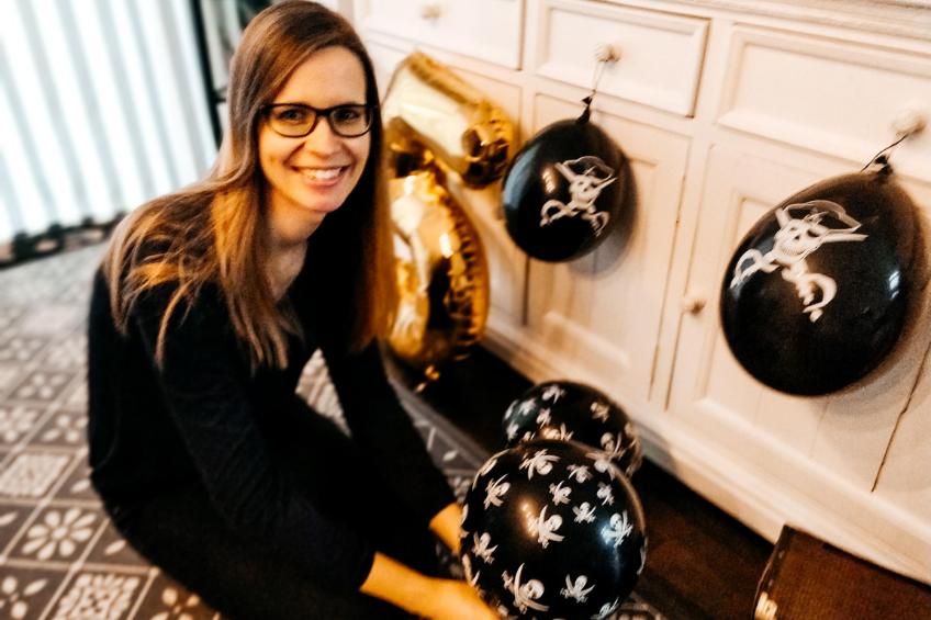 Unsere Pink-Dots-Gründerin Kathi teilt ihre positiven Erfahrungen und Ideen gern mit anderen Mamis