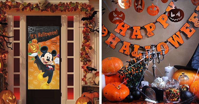 Dekoriere für Halloween mit Kids Türen und Räume