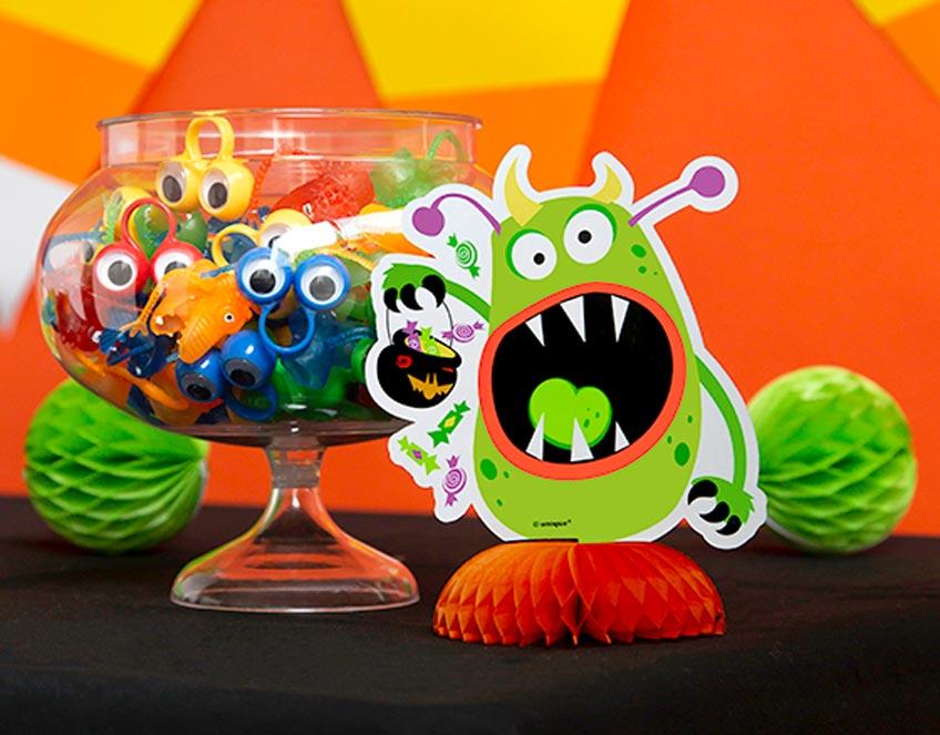 Süße Mitgebsel für Halloween eignen sich auch für Kinderspiele