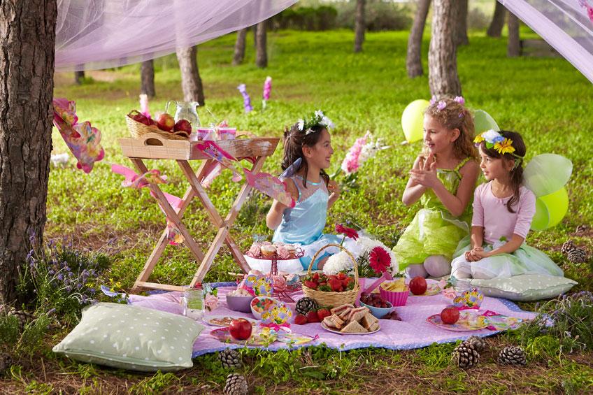 Auch auf dem Motto-Kindergeburtstag brauchen die Kids Zeit für sich