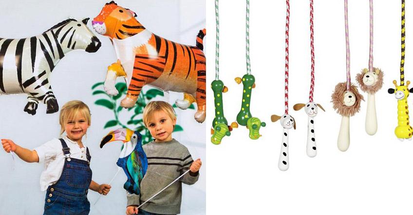 Schenk deinen Kindergeburtstagsgästen auf der Safari Party kleine Mitgebsel