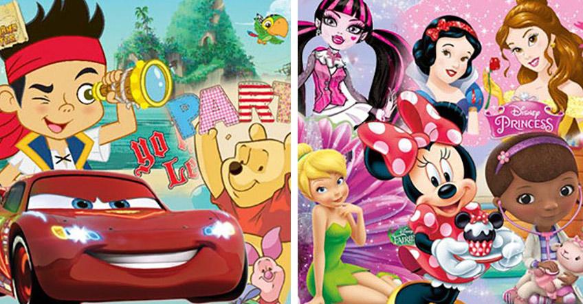 Es gibt viele Film-, Comic- oder Serienfiguren, die gut auf den Kindergeburtstag mit Motto passen