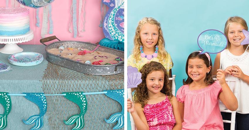 Denk dir zur Mermaid Party ein passendes Programm aus