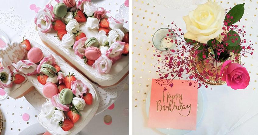 Back eine schöne Meilenstein-Torte mit Geburtstagszahl (c) myboys_and_i