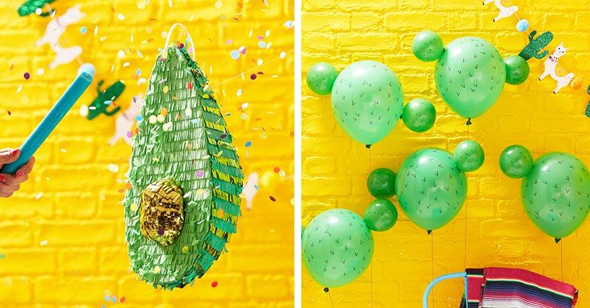 Viva la Fiesta - hol dir lustige Spiele und Deko mit Mexiko-Motiven