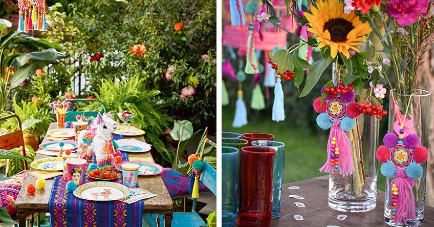 Mexican und Boho - vereine zwei großartige Deko-Stile für die Sommerparty