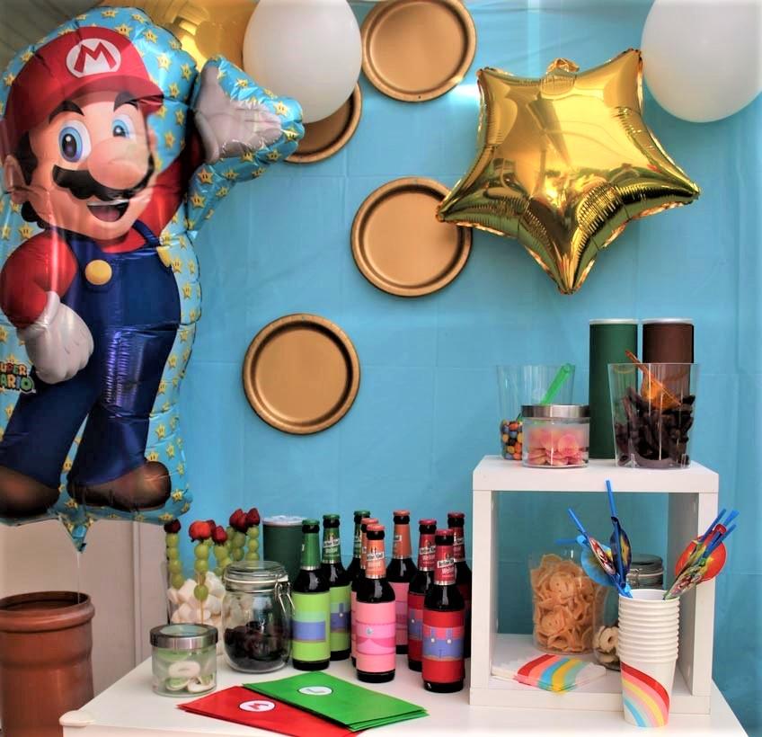 Du bist ein riesen Super Mario Fan? Wie wär`s mit einer super coolen Mottoparty!