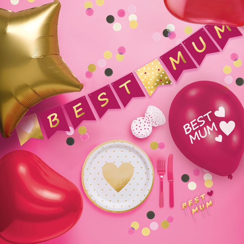 Überrasch deine Mutter zum Muttertag mit süßer Deko