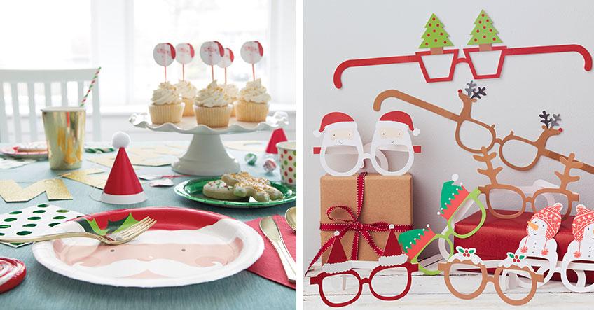 Für Kinder darf die Weihnachtsdeko gern witzig sein