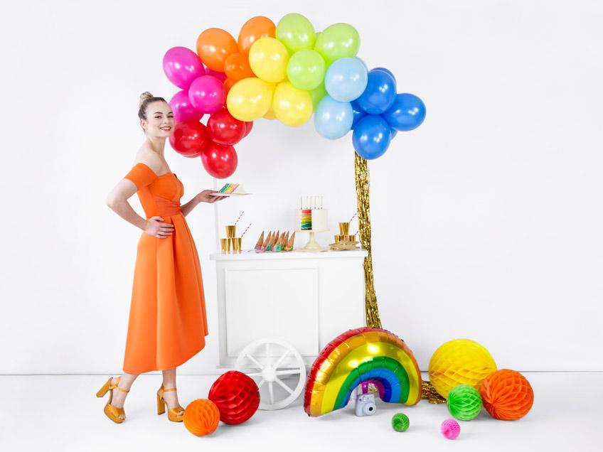 Kreativ und farbenfroh - Regenbogen als Motto