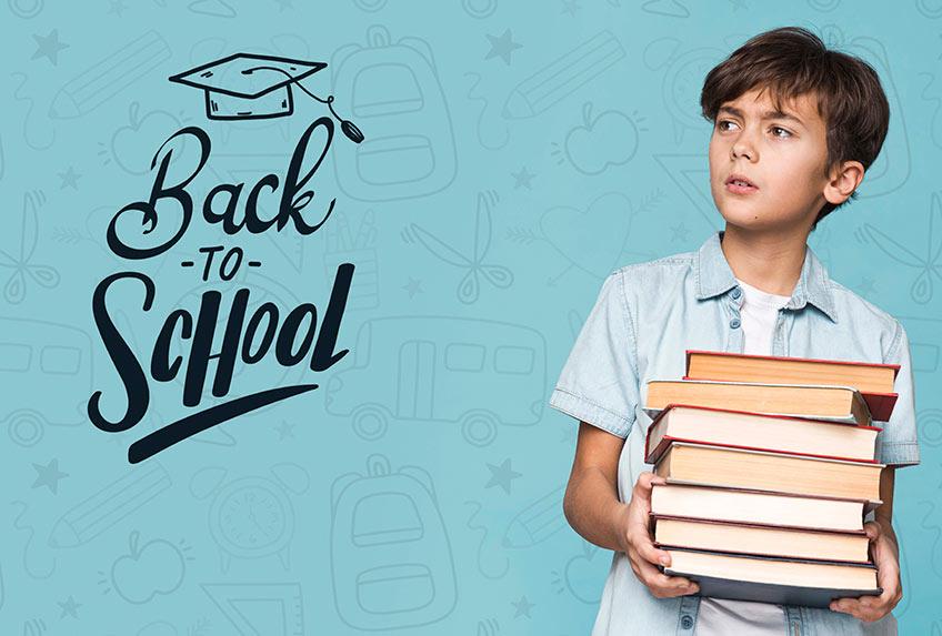Bereite dein Kind auf den Schulwiedereinstieg vor (c) Designed by Freepik