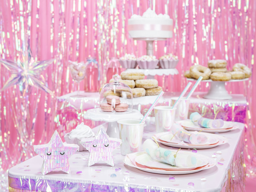 Zuckersüß und festlich schimmernd - Feier eine Pastell-Mottoparty