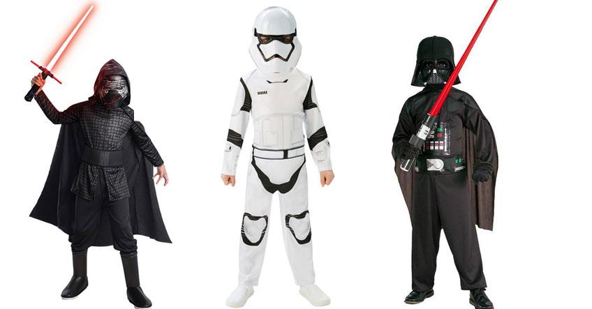 Schurkische Kinderkostüme für Stars Wars sind gerade unheimlich beliebt