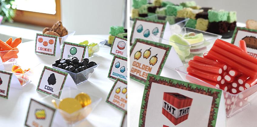 Ein Sweet Table, der zum Spielen einlädt - Ressourcen ertauschen oder erspielen und dann naschen!
