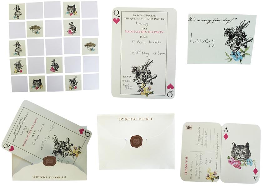 Diese Printables könnt ihr euch gratis holen, um eure Alice-Party noch zu verbessern