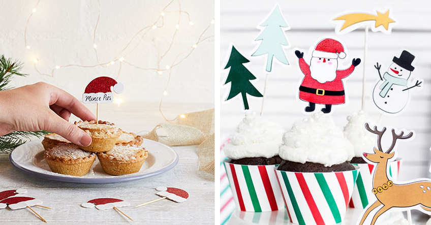 Mach deine Backwaren weihnachtlich mit süßem Backzubehör