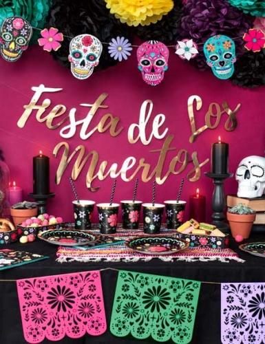 Der Día de los Muertos mit seiner bunten Deko als tolle Alternative zu Halloween