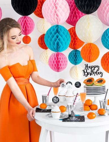 Schön bunt und weiblich - Geburtstagsdeko für Frauen