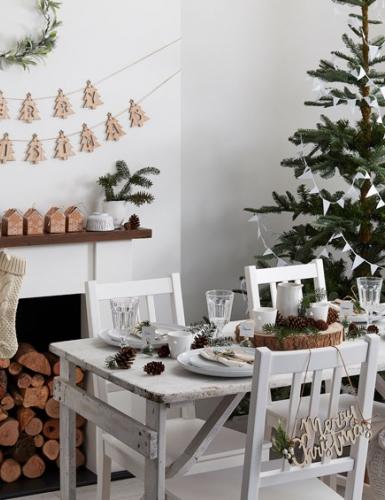 """Kuschelige nordische Weihnachtsdeko macht die Feiertage """"hygge"""""""