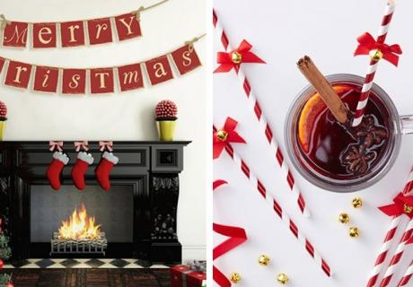 Dekorier dir dein Zuhause für Weihnachten schön und kuschelig