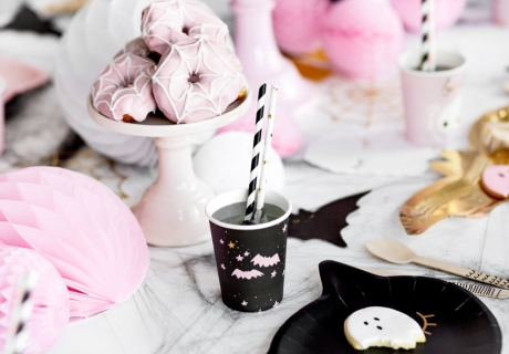 Süßes ganz ohne Saures - quirliges Halloween mit Rosa