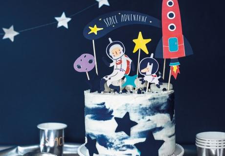 Geniale Cake-Picks mit Weltraum-Motiven machen Space-Stimmung
