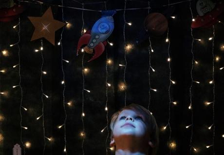Der Weltraum ist ein Ort zum Staunen - so sorgt ihr für intergalaktische Deko