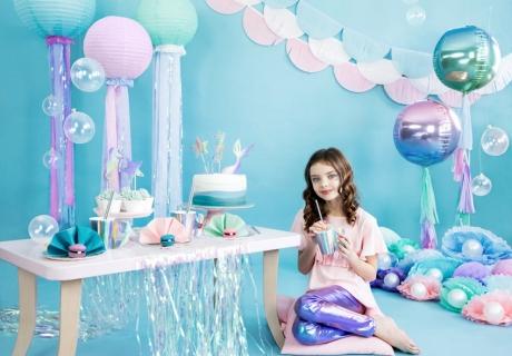 Feier eine schillernde Meerjungfrauen-Party - bei uns findest du alles, was du brauchst