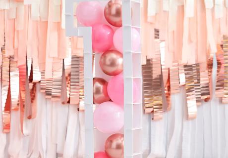 Wir zeigen dir, wie du die Ballon-Mosaik-Rahmen aufbaust!