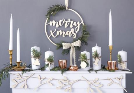 Nordische Deko macht die Weihnachtszeit gemütlich