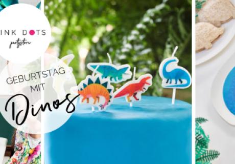 Such dir einen coolen Stil für deine Dino-Deko zum Kindergeburtstag aus - wir haben tolle Inspirationen