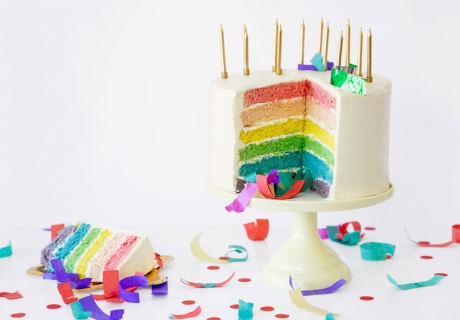 Tolle Rezepte und DIY-Deko für die Regenbogen-Party