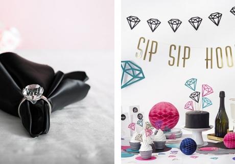 Tiffany's und Diamanten - Deko, die auf dem Sweet 16 gut ankommt