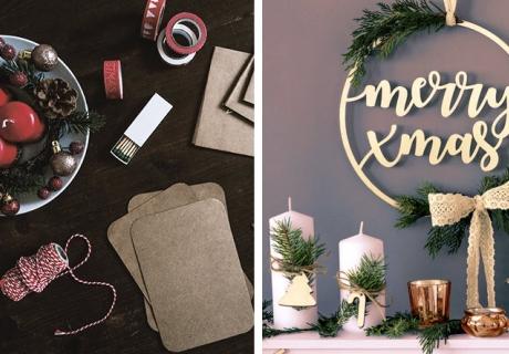 Kerzen für Wohnung und Adventskalender lassen sich schön und einfach dekorieren, links (c) Kira auf der Heide on Unsplash
