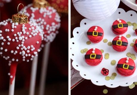 Gib Cake Pops und Macarons einen großartigen Weihnachtslook (c) Biskuitwerkstatt