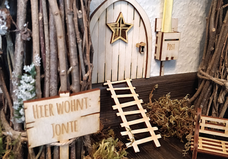 Verzauber die Zeit vor Weihnachten mit einem Wichteldorf mit Mini-Deko